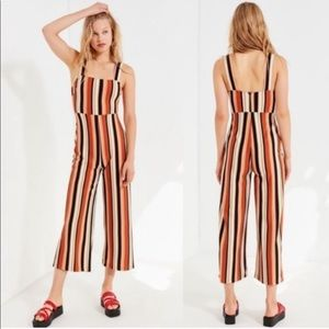 Urban Outfitters striped jumpsuit NWOT